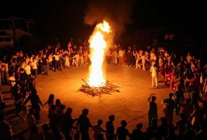 秀山在线2016,大年初五新春晚会,让我们再续篝火情