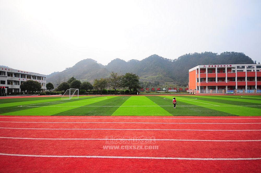秀山县妙泉镇中心校园风采