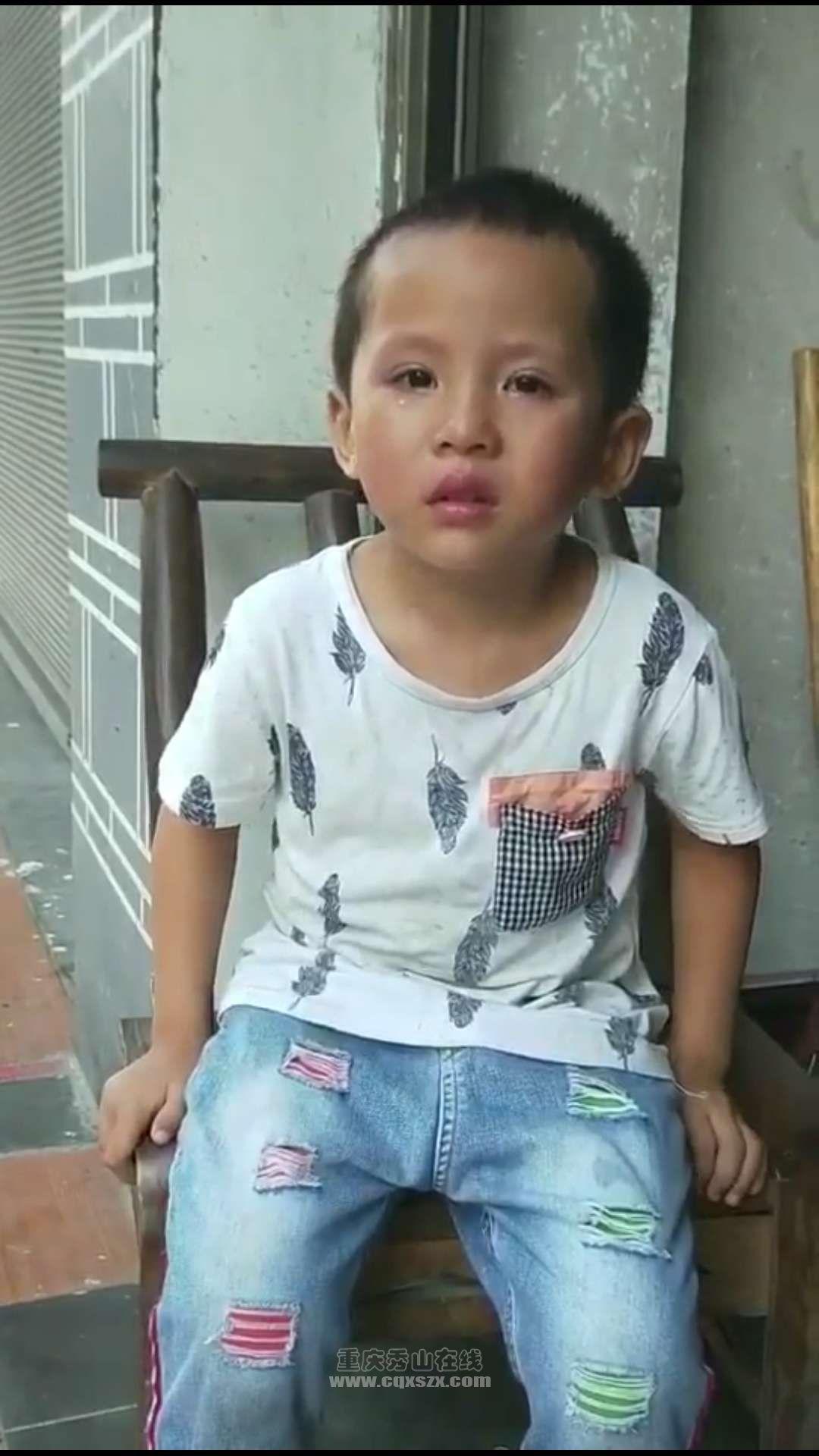 8.12日走丢一个小孩 请认识的人告知他的父母