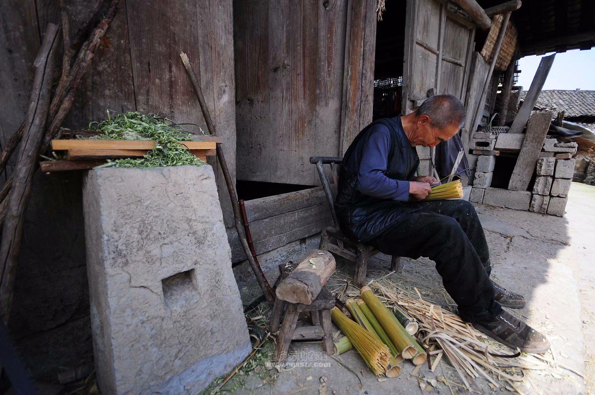 一把竹锅刷——承载了多少的辛酸与哀愁
